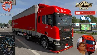 Euro Truck Simulator 2 (1.35)   Low deck chassis addon for Eugene Scania NG by Sogard3[v1.0][1.35] Scania R 2016 Next Gen by SCS Germany Revisiting Phase 2 Krone Megaliner Ownable Trailer by Sogard3 + DLC's & Mods https://forum.scssoft.com/viewtopic.php?f