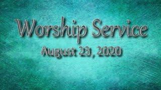 Aug 23, 2020 Worship Service, Cherryvale UMC