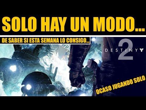 Destiny 2 - Solo Hay Un Modo De Saber Si Lo Consigo... thumbnail