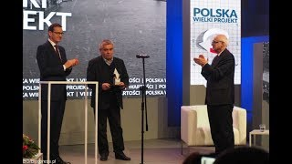 Wręczenie Nagrody im. Prezydenta Lecha Kaczyńskiego Antoniemu Liberze (Polska Wielki Projekt - 2018)