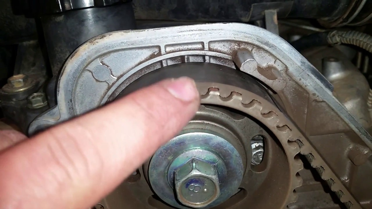 Timing belt and water pump replacement Prado