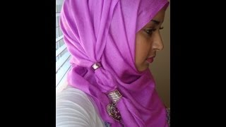 Summer Hijab Style with Finger Rings- Easy to Follow Thumbnail