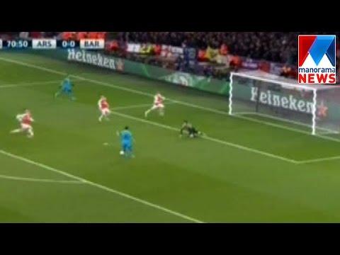 Barcelona defeat Arsenal  | Manorama News