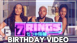 "MY BIRTHDAY MUSIC VIDEO! (Ariana Grande - ""7 Rings"" Parody)"