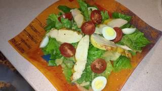 Самый вкусный салат ЦЕЗАРЬ от ALLANDESS, рецепт, приготовление, наслаждение!