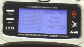 Castle Phoenix Edge 120HV Throttle End Point Calibration sequence