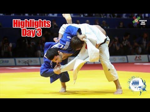 European Judo Championships Tel Aviv 2018: Highlights Day 3