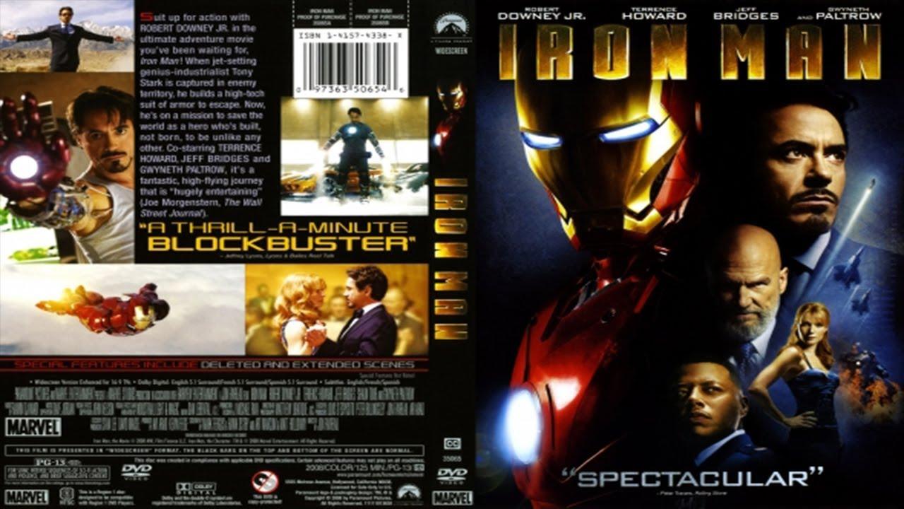 Opening Iron Man 2008 Dvd Youtube