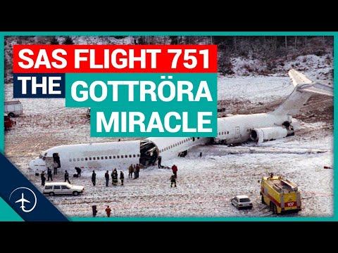 SAS flight 751, the Gottröra Miracle! Mentour Pilot tells the story