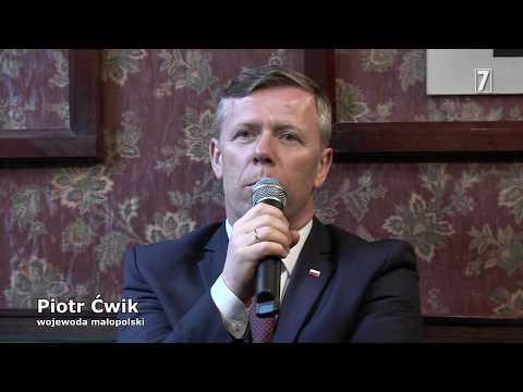 PIOTR ĆWIK polityk, samorządowiec, wojewoda małopolski