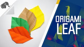 Origami - How To Make An Origami Leaf