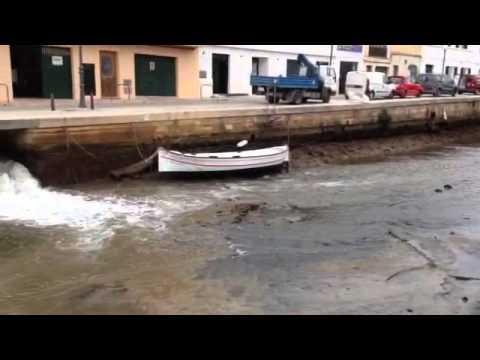 Rissaga Port de Ciutadella 22-4-15