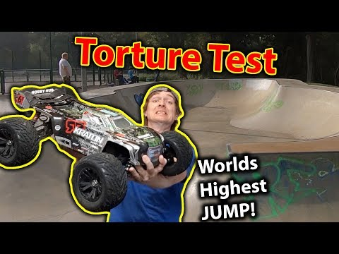 ARRMA Kraton Destruction TEST EPIC AIR!!! RC Car Abuse