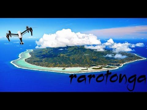 Rarotonga by Drone - DJI Inspire - 4K