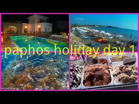 CYPRUS HOLIDAY VLOG DAY 1|SNORKELLING AT CORAL BAY WITH GO PRO