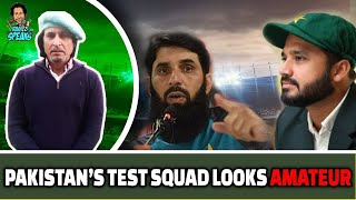 Pakistan's Test Squad Looks Weak | Pakistan Vs Australia