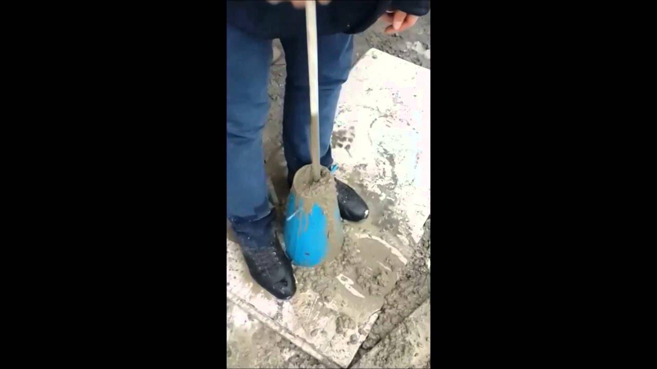 Стяжка пола с пластификатором С 3 и СНВ - YouTube