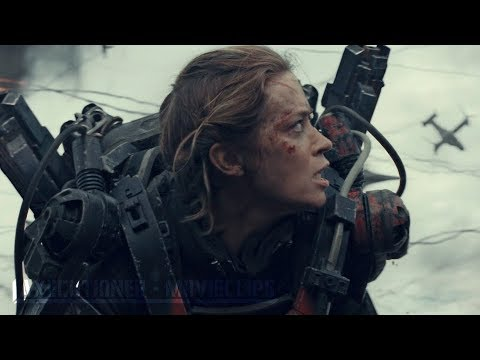 Edge Of Tomorrow |2014| All Battle Scenes [Edited]