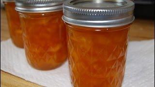 How To Make Peach Jam  Easy (homemade)