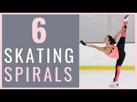 6 ICE SKATING SPIRALS FOR EVERY FIGURE SKATER | Coach Michelle Hong
