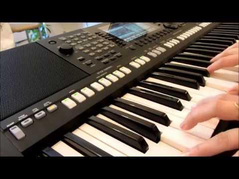 Урок  по записи миди-файла на Yamaha PSR S-775