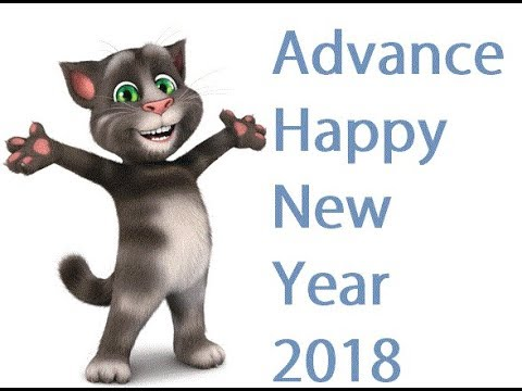 Tom Wish you Advance happy new year 2018 - YouTube