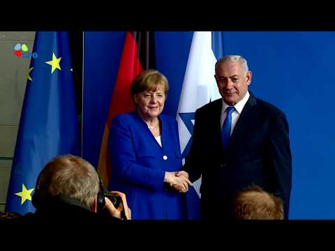 Israel PM Netanyahu and German Chancellor Merkel hold joint press conference