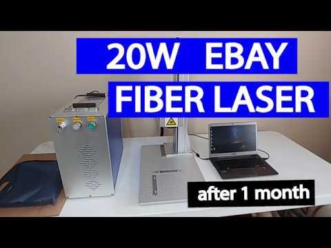 20W Ebay Fiber Laser Setup & Thoughts After 1 Month of Use
