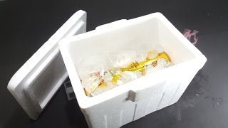 How To Make Mini Air Conditioner - Very Easy and Saving ice