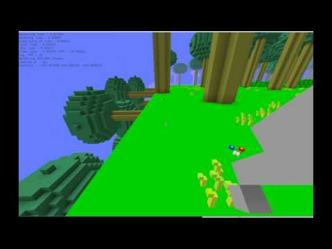 Ocaml Voxel Game 1 : Cubic Planet