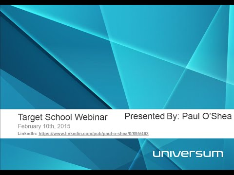 2015 Creating A Winning Target School Strategy Universum