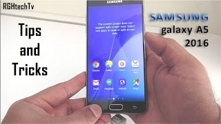 Samsung Galaxy A5 2016 Tips and Tricks