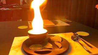 燃えた!!ハーゲンダッツ抹茶サロンで抹茶のコースメニューを体験していたらすごいことに【スイーツちゃんねるあんみつ】
