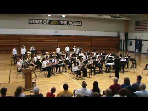Dansville Middle School Band -Spring Band Concert 5/7/18