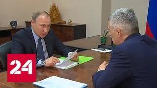 Путин передал главе Карелии претензии населения