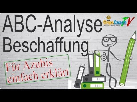 ABC-Analyse (Beschaffung) Einfach Erklärt - Prüfungswissen Für Azubis ★ GripsCoachTV