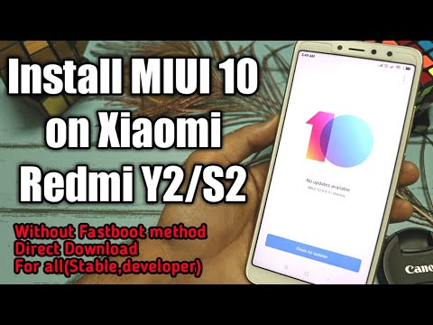 Install MIUI 10 on Redmi Y2 without Fastboot method for all ROM | Stable  ROM to developer ROM
