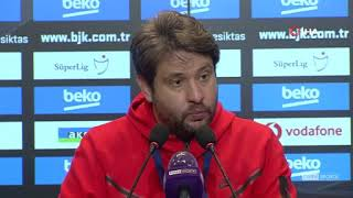Özhan Pulat: Meydan okumaya daha iyi cevap vermeliydik! | Beşiktaş - Hatayspor : 7-0