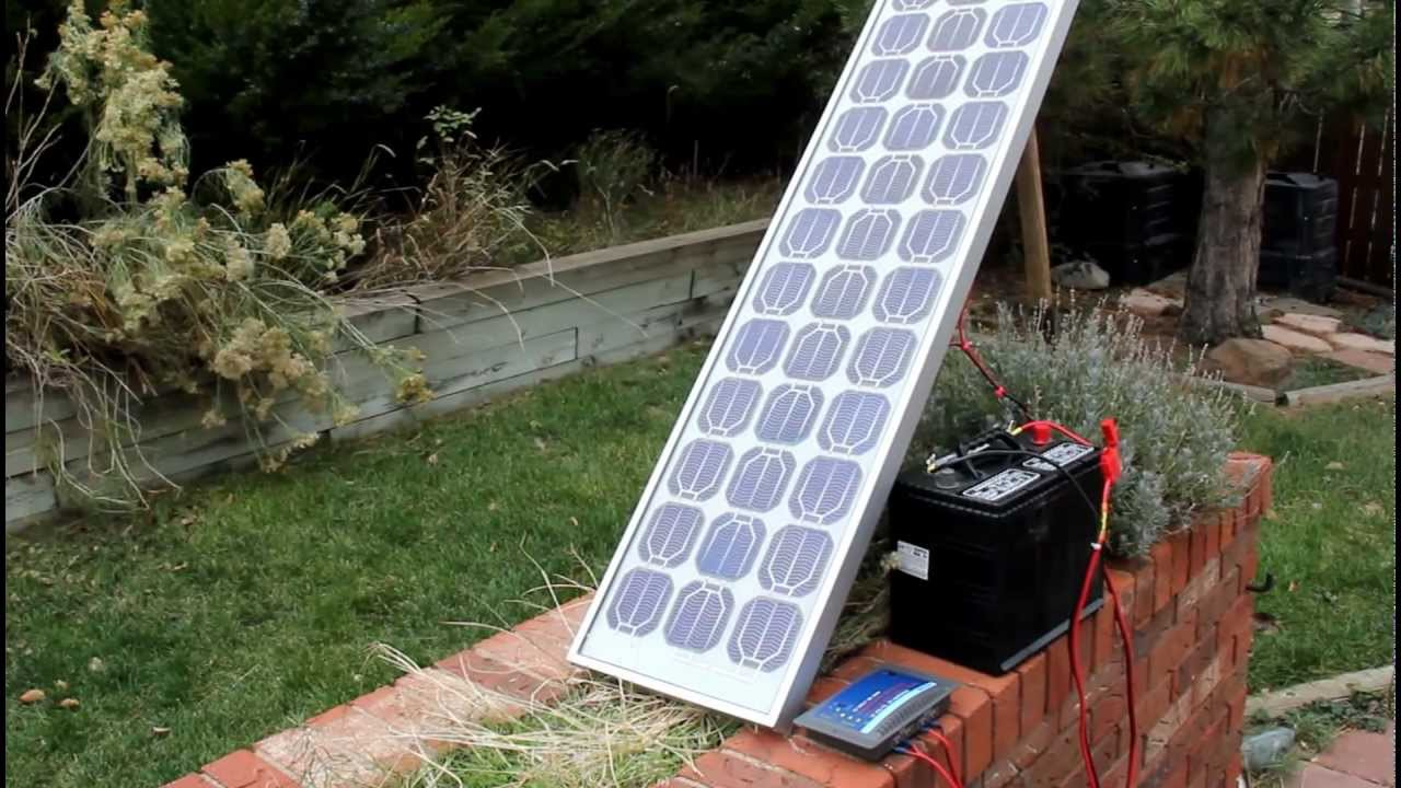 Diy Solar Simple Cost Effective Battery Charging Youtube Charger Small Led Lamp Based Cell Photovoltaic