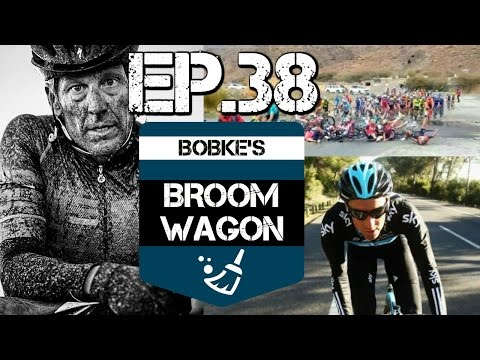 Lance Armstrong racing again, Crazy crash Tour of Oman, Michael Barry on Tramadol at Team Sky