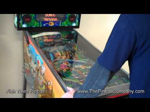 Fish Tales Pinball Machine - Www.ThePinballCompany.com