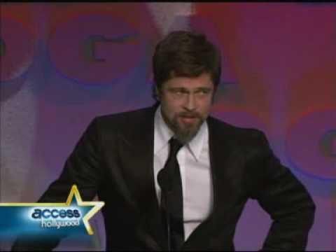 Brad Presenting Quentin Tarantino