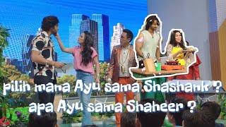 Ayu ting-ting lebih cocok sama Shaheer apa sama Shashank ?