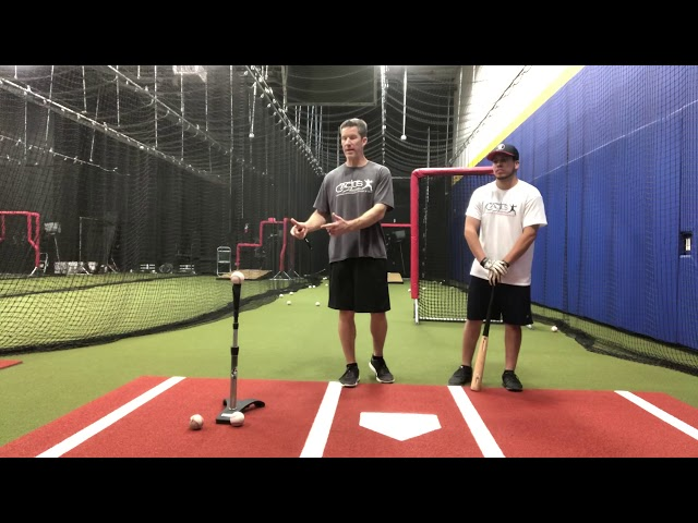 Blending Drill with Batting Tee and Front Toss