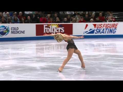 Rachael Flatt 2012 US Nationals free program