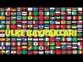 Dünya Bayrakları - 1 / Ülke Bayrakları / World Flags HD