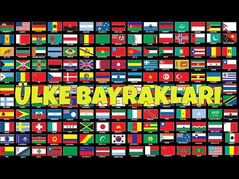 Dünya Bayrakları 1 ülke Bayrakları World Flags Hd Youtube