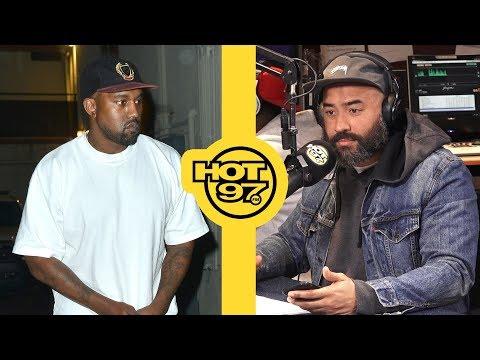 Kanye West Talks to Ebro: 'I Love Donald Trump'