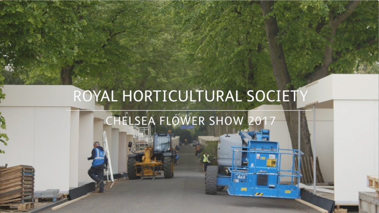 Chelsea flower show 2017 corporate entertainment packages - Rhs Chelsea Flower Show Behind The Scenes 2017