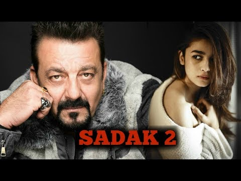 Image result for latest images of sanjay dutt and alia bhatt new movie sadak 2